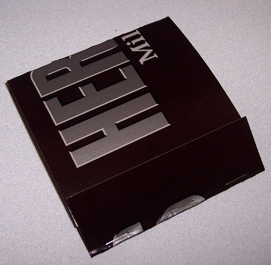 POST IT PAD and HOLDER Recycled  from HERSHEY'S Box Made in USA #2010087