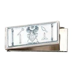 FREEMASONS'MASONIC SECRET COMPARTMENT MONEY CLIP,MASONS