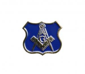 MASONIC POLICEMANS'LAPEL PIN/TIE TACK,POLICE MASONS,NR!