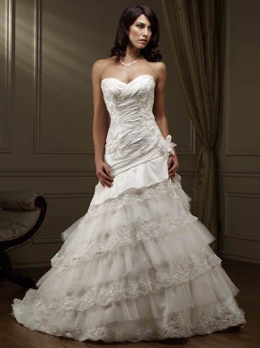 Custom wedding dress SKU870088
