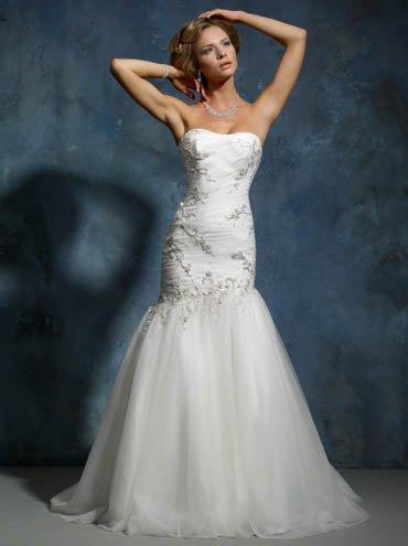 Designer wedding dress SKU870005