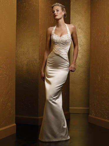 Cheap wedding dress SKU870057
