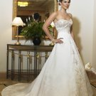 Free shipping maggie sottero a line wedding dress Zaga