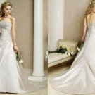 Free shipping maggie sottero a line wedding dress Adelaide