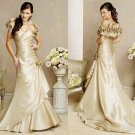 Free shipping maggie sottero a line strapless wedding dress Allison Marie