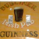 GUINNESS VINTAGE STYLE IRISH PUB LIGHT SWITCHPLATE COVER