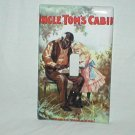 BLACK AMERICANA UNCLE TOM'S CABIN VINTAGE STYLE BOOK COVER DECORATIVE LIGHT SWITCHPLATE COVER