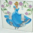 CINDERELLA AND ROSES DECORATIVE LIGHT SWITCHPLATE COVER(a)