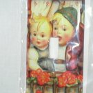 HUMMEL CHILDREN DECORATIVE LIGHT SWITCHPLATE COVER