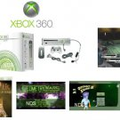 "Xbox 360 ""Premium Gold Pack"" Video Game System with 6 Great Games"