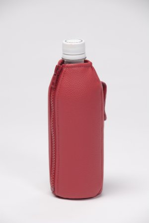 Red Water Bottle Carrier