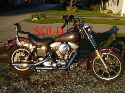 1985 Harley Davidson FXSB Lowrider