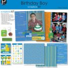 Bursdag Scrapbook kit