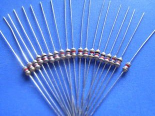1/8W 1000 pcs. resistor choose one value from the list (Item# R0034)