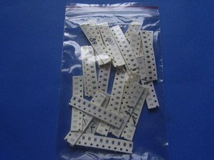 SMT 0805 10 pcs. for each of 28 type resistor, 3.9K  - 62K ohm, totally 260 pieces (Item# R0041)