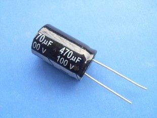 470UF 100V Electrolytic Capacitor (Item# C0144)
