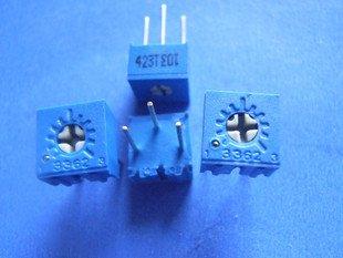 10K (103) Trimmer 3362P type (Item# T0019)