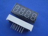 0.36 Inch, red, common cathode 4-digit 7-segment module (Item# S0003)