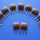 10.7MHz Ceramic Filter, 3 legs, 10 pcs.  (Item# X0027)