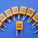 455KHz Ceramic Resonator, 2 legs, 10 pcs.  (Item# X0029)
