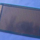 PCB multi-purpose, 9CM*15CM 1.6MM, high quality solder coated, FR4, 1 pcs. (Item# P0017)