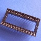 IC Socket, 28 pin DIP, wide, 0.1 inch pitch, 16  pcs. (Item# S0012)