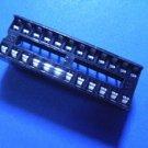 IC Socket, 24 pin DIP, 0.1 inch pitch, 20  pcs. (Item# S0019)