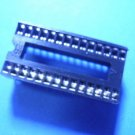 IC Socket, 28 pin SDIP, round, 1.778mm pitch, 6 pcs. (Item# S0022)