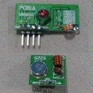 Remote Control, Transmitter + Receiver, 5V, ASK modulation (Item# RE008)