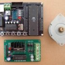 Development Tools (MCU), 89S52 system+L297/L298 stepping motor board+stepping motor (Item# MC008)
