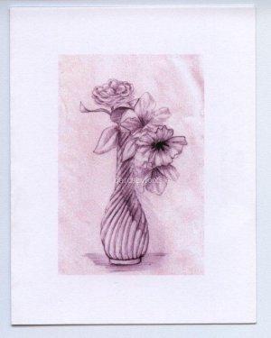 Vase of Azaleas