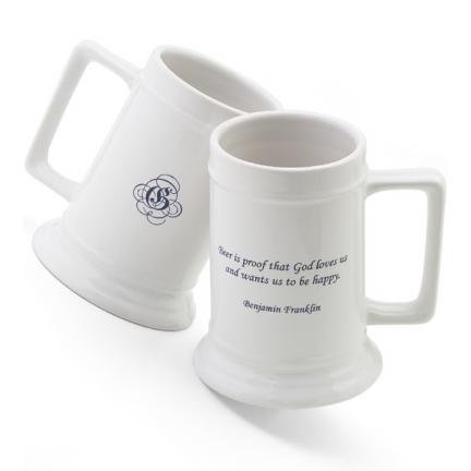 16 oz. Famous Beer Quote Stein