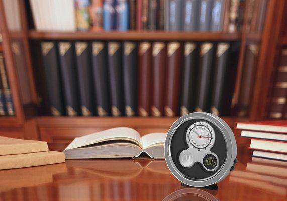 Modern Times Desk Clock