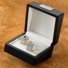 Silver Plated Cuff Links