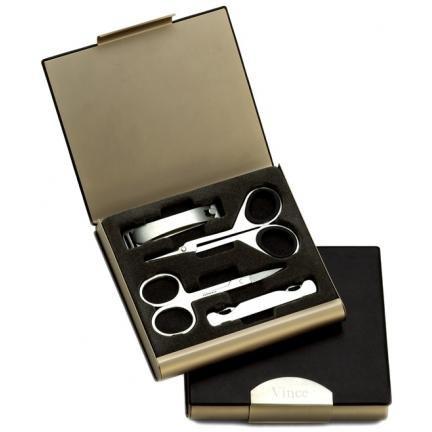 Precision Leather Manicure Kit