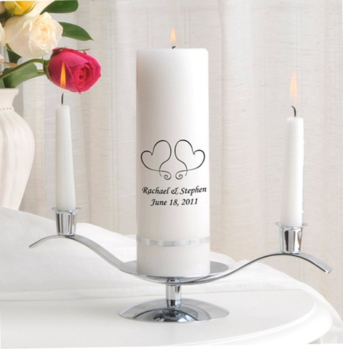 Premier Unity Candle and Stand Combo