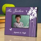 Bloomin Butterfly Personalized Teacher Picture Frame