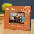 Breath of Spring Personalized Teacher Picture Frame