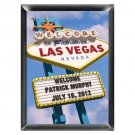 Personalized Vegas Marquee Traditional Sign