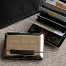 Personalized Expandable Executive Business Card Case