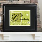 Personalized Family Name Frame