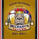 Personalized Traditional Pub Sign Bulldog