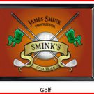 Personalized Traditional Pub Sign Golf