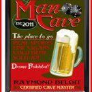 Personalized Traditional Pub Sign Man Cave