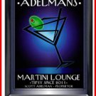 Personalized Traditional Pub Sign Martini After Hours