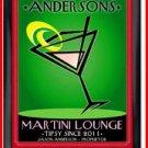Personalized Traditional Pub Sign Martini Cosmo
