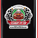 Personalized Traditional Pub Sign Pit Stop Racing