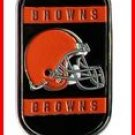 Personalized NFL Dog Tag Cleveland Browns