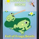 Personalized Childs Room Sign Froggin