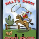 Personalized Childs Room Sign Lil Cowboy